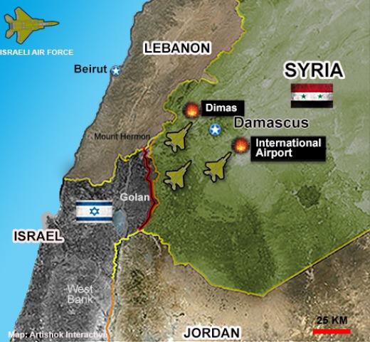 Israele ammette 'operazioni speciali' in Siria e aumenta la cooperazione con Mosca