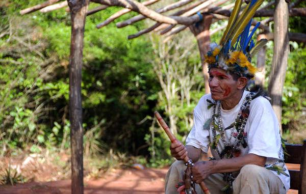 I Guarani sono stati derubati della terra ancestrale per far spazio all'agro-industria.