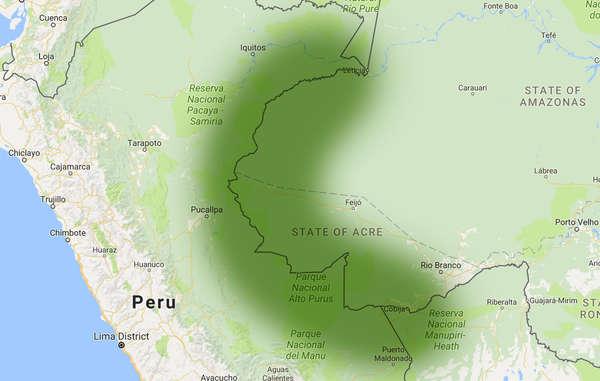 """""""La frontiera dell'Amazzonia Incontattata è l'area in cui vive la più alta concentrazione di tribù incontattate al mondo."""""""