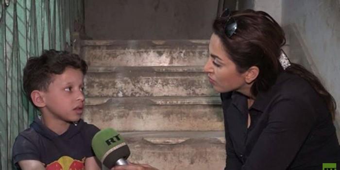 La Russia porterà all'Onu la testimonianza di Hamid, il ragazzo icona dell'attacco chimico di Assad