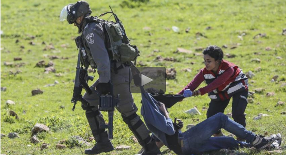 VIDEO. Soldati israeliani colpiscono i medici che aiutavano palestinesi feriti